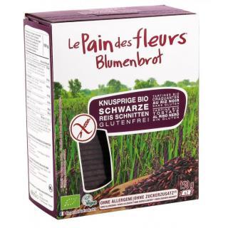 Blumenbrot Schwarzer Reis gf