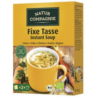 Fixe Tasse Instant- Suppe Huhn