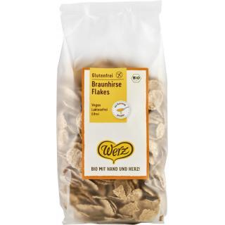Braunhirse-Flakes glutenfrei  250 g