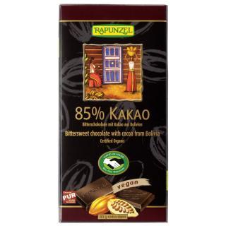 85% Kakao Bitterschokolade HIH