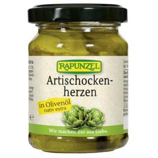 Artischockenherzen in,Olivenöl