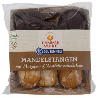 Mandelstangen mit Marzipan & Zartbitterschokolade