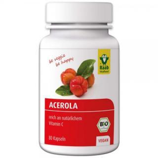 Acerola Kapseln 80 Kps