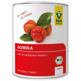 Acerolapulver pur Raab 100 g