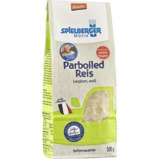 Demeter Parboiled Reis Langkorn, weiss