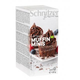 Muffin Minis Chocolate /glf - 2x2 Stk.