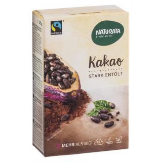 Kakaopulver stark entölt
