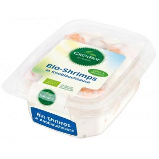 Shrimps in Knoblauchsauce