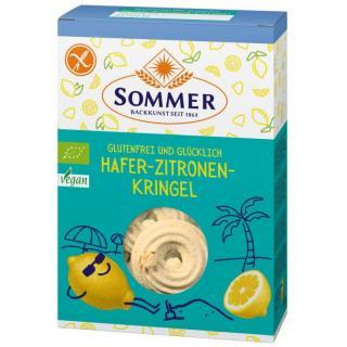 Hafer Zitronen Kringel glutenfrei