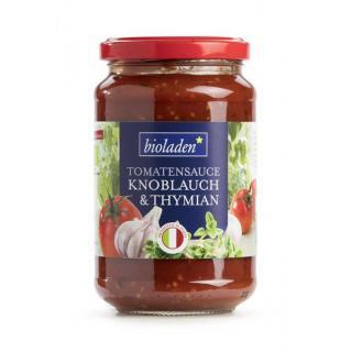 b*Tomatensauce Knoblauch Thymian