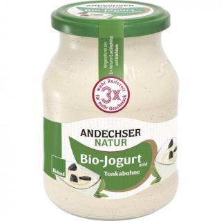 AN Bio Jogurt mild Tonkabohne 3,7%  500 g