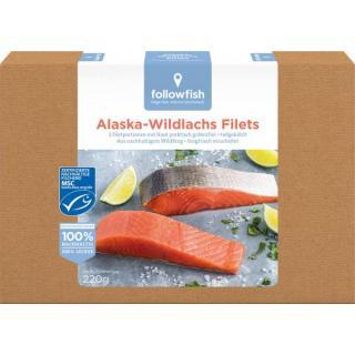 Alaska Wildlachs Filets MSC