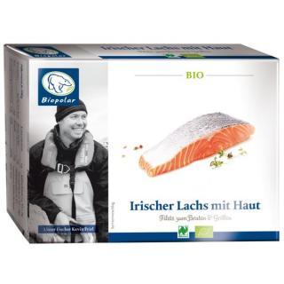 Irischer Lachs mit Haut, natur