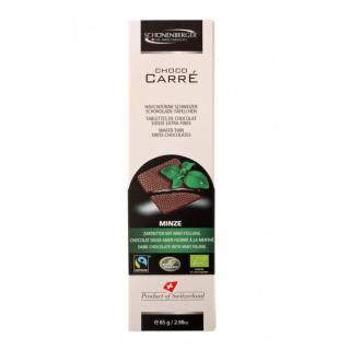 Choco Carré Mint Füllung